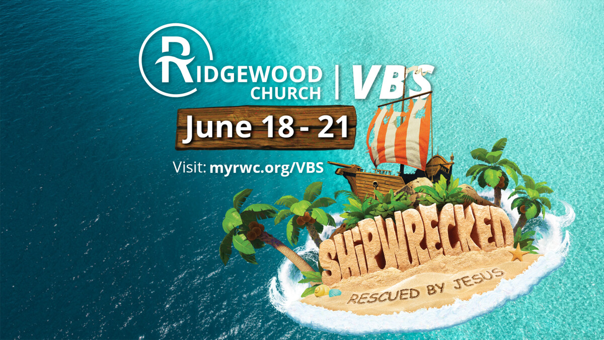 Vacation Bible School: Shipwrecked - Rescued By Jesus