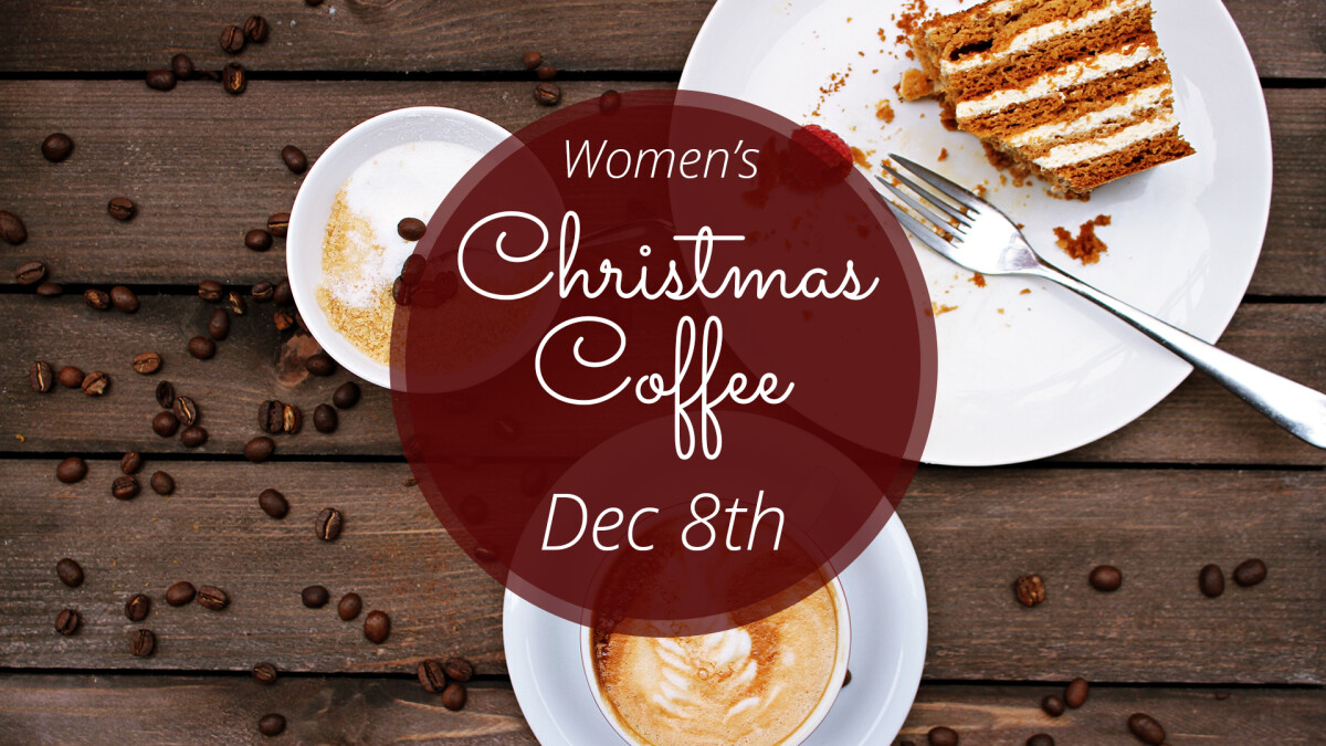 Women's Christmas Coffee