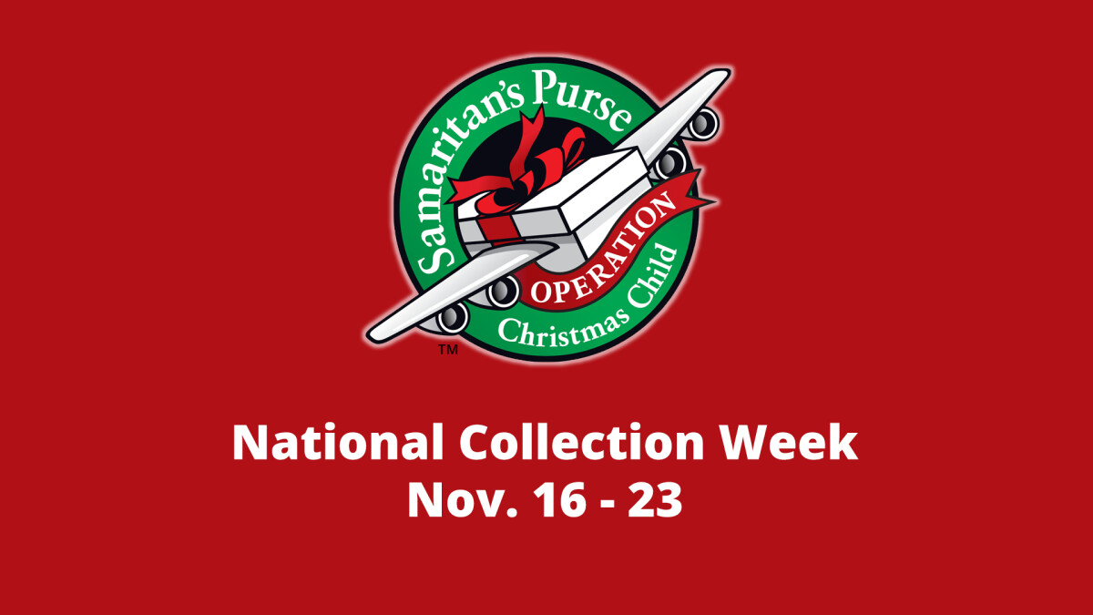 Operation Christmas Child - Collection Week